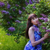 Сиреневое настроение :: Лена Хрусталева