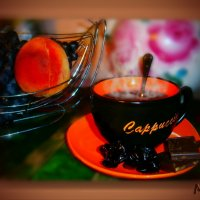 Приглашение на чашечку кофе....... :: Людмила Богданова (Скачко)