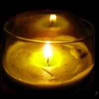 Не гасите свечу, пусть горит до конца.... :: Людмила Богданова (Скачко)