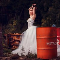 Trash the dress :: Анастасия Бембак