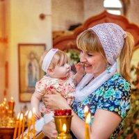 Крещение Лерочки :: Татьяна