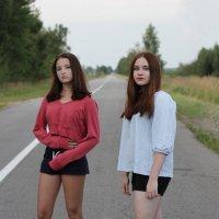 Даша и Даша :: Ирина Солощ