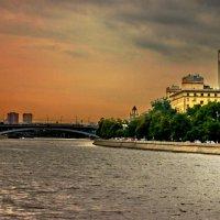 Набережная Москвы - реки :: Борис Александрович Яковлев