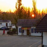 Рассвет. Вид из окна. :: Юлия Бабитко
