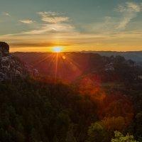 восход над Бастай... :: Maximilian Buckup