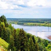 река Вятка :: Юрий Толстогузов