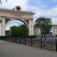 Ворота в Улан-Удэ :: Татьяна Черняева
