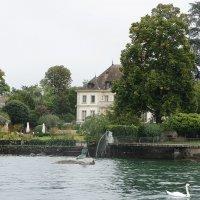 Прогулка по Женевскому озеру. Русалка Лемана :: Елена Смолова