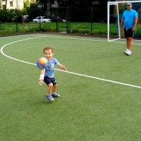 Футбол с дедом :: Ирина Фирсова