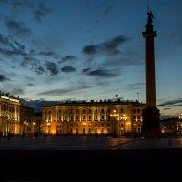 Дворцовая площадь ночью :: Alexey alexeyseafarer@gmail.com