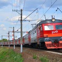 Электрпоезд ЭР2Т-7175 :: Денис Змеев
