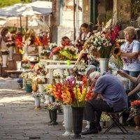Цветочный рынок. :: Евгений Мокин