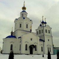 Церковь во имя Успения Пресвятой Богородицы. :: Борис Митрохин