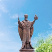 Памятник Николая Чудотворца :: Alex Bush