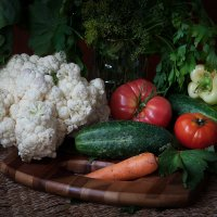Натюрморт с овощами :: Владимир