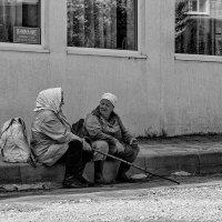 беседа на обочине :: Saloed Sidorov-Kassil