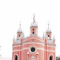Православный Храм в псевдоготическом стиле. :: Наталья Золотых-Сибирская