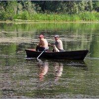 """""""Двое в лодке,не считая собаки"""" :: Роланд Дубровский"""