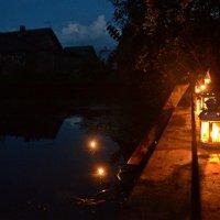 Ночь на пруду. :: Елена Третьякова