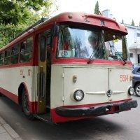 Ялта (Крым ) 2015 Старенький троллейбус,но ещё на ходу!!!!!! :: Надежда
