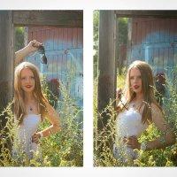 Память согревает человека изнутри… и в то же время рвет его на части. :: Yulia