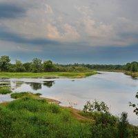 Река  и  небо. :: Валера39 Василевский.