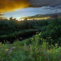 Закат над Кихтью :: Валерий Талашов