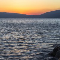 Sunset Sevan lake :: Mikayel Gevorgyan