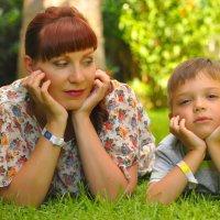 с сыном :: Ната Панкова