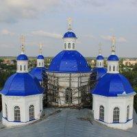 г.Кашин. Фото с колокольни собора :: Александр Яковлев