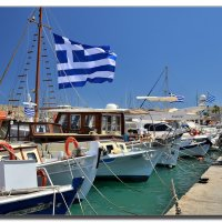 Под небом Греции. :: Leonid Korenfeld