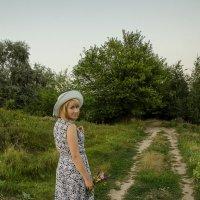 Вечерняя прогулка с Анжеликой :: Ксения Довгопол