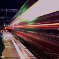 ночной поезд :: Андрей Беспалов