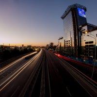 Вечер на мосту Сиверса :: Алина Лукошкина