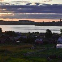 Закат над уральской деревенькой. :: cfysx