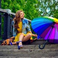 Прогулка по парку :: Анна Кадулина-Новоселова