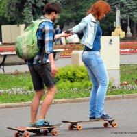 на колесах и вместе :: Олег Лукьянов