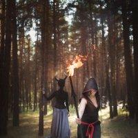 Дракон. Призыв Духа огня... :: Мария Дергунова