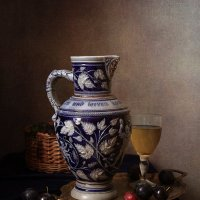 Кувшин и вино :: Карачкова Татьяна