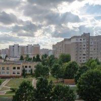 Вид из окна. Дом :: Игорь Пракофьев