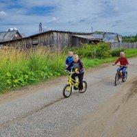 Велогонщики из Порохова :: Валерий Талашов