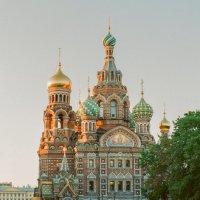 Спас-на-Крови (пленочное фото) :: Евгений Дмитриев