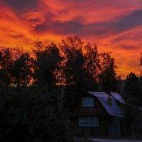 Дачные закаты :: Олег Мартоник