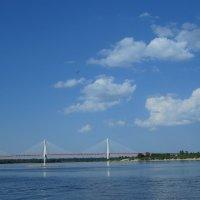 вантовый мост через Оку :: Сергей Цветков