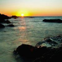 Закат на чёрном море. :: Ира Балкина