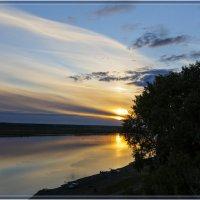 Закат за Яром. :: Виталий Томский