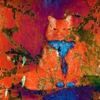 Красный кот в синем галстуке :: valeko