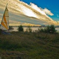 Утро на реке Волга. :: Виктор Евстратов
