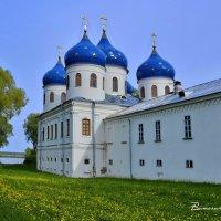 КРЕСТОВОЗДВИЖЕНСКИЙ СОБОР. Юрьев монастырь. В. Новгород 12 :: Виталий Половинко