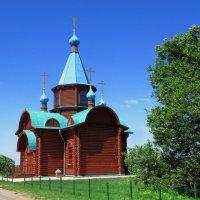 Церковь в игуменке. :: Александр Атаулин